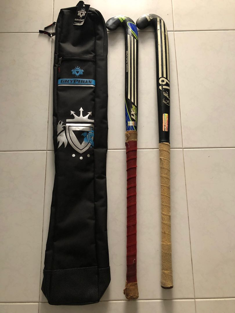 b4df3b077 New hockey stick bag + 2 used adidas sticks to let go!