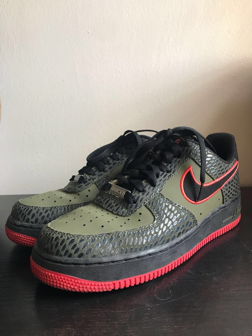 "promo code b48d9 f2d28 Nike Air Force 1 Low ""Scale Pack"", Men s Fashion, Footwear, Sneakers ..."