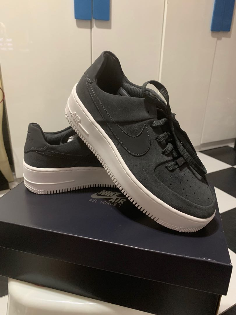 Nike Air Force 1 Sage Low Black Men S Fashion Footwear Sneakers