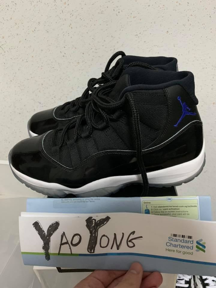 best authentic 32a38 093dd Nike Air Jordan 11 Space Jam, Men s Fashion, Footwear, Sneakers on ...