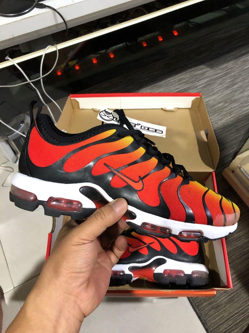 Nike Air Max Plus TN Ultra Black Team Orange Tour Yellow