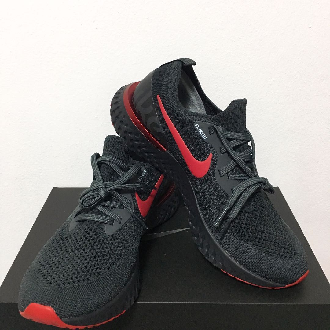 buy popular 55148 5182e Nike Epic React Flyknit ID, Sports, Sports Apparel on Carousell