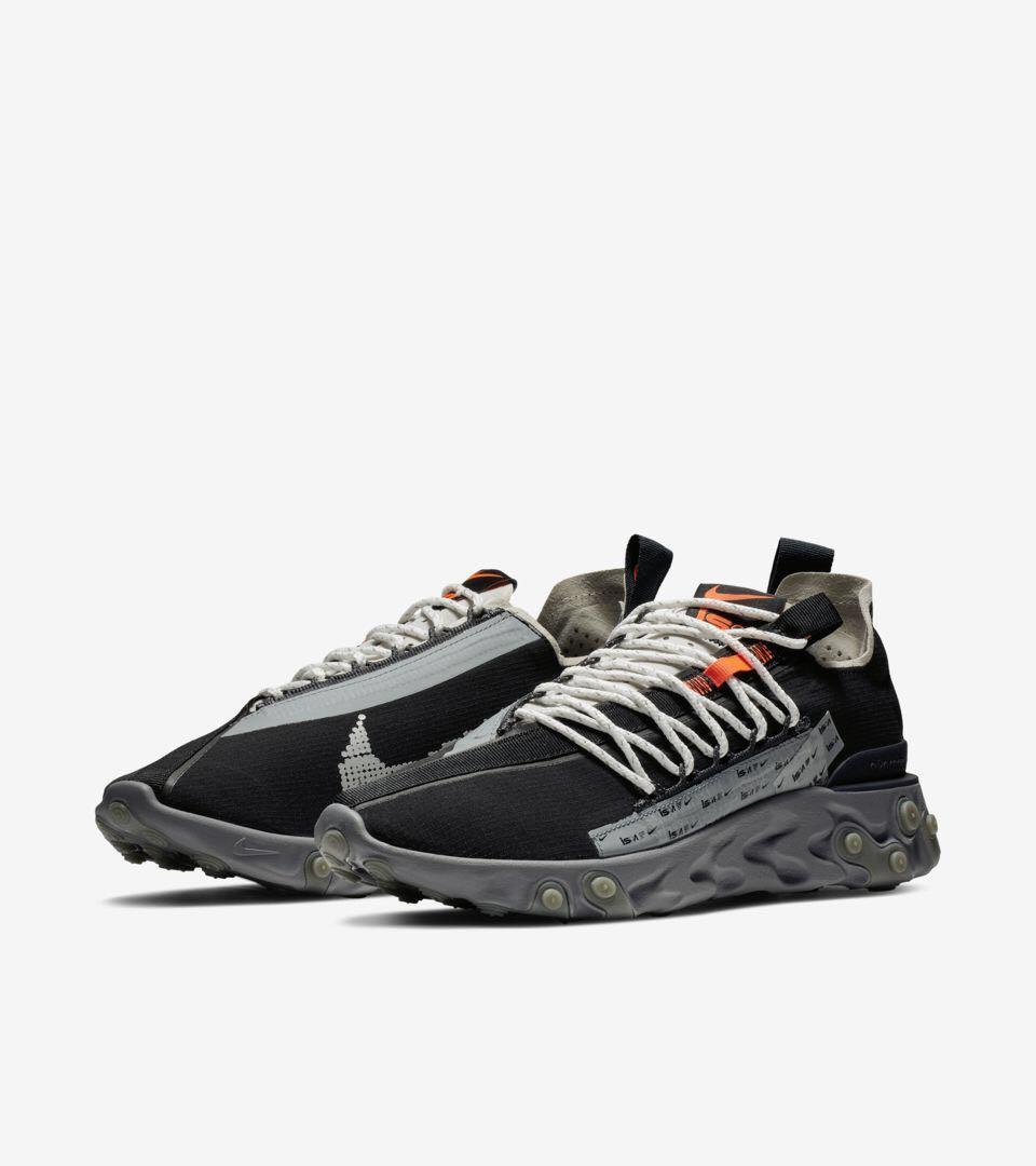 Nike ISPA React WR Low (Black), Men's
