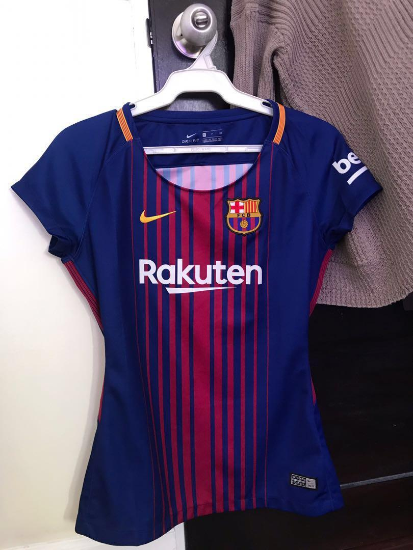 reputable site 42d11 c0e38 Repriced! FC BARCELONA MESSI JERSEY on Carousell