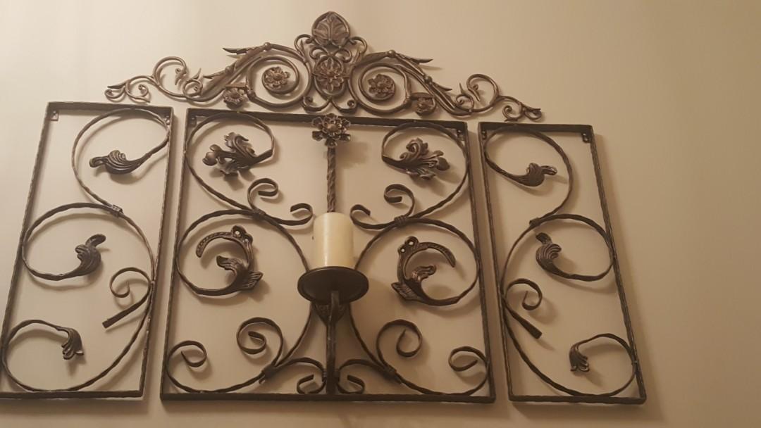 Rod Iron Wall Decor