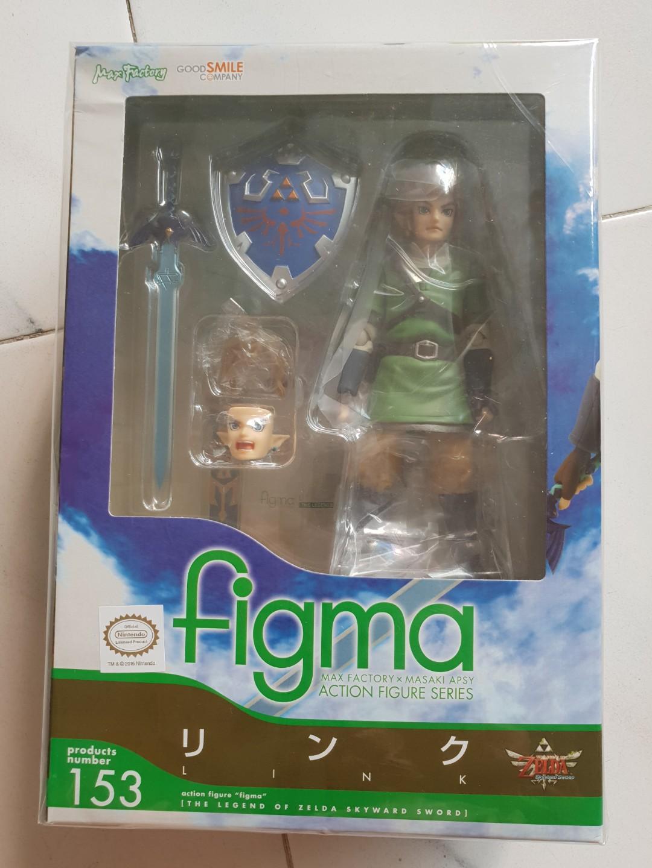 The Legend of Zelda Skyward Sword Link Action Figure MAX Factory Figma 153 New