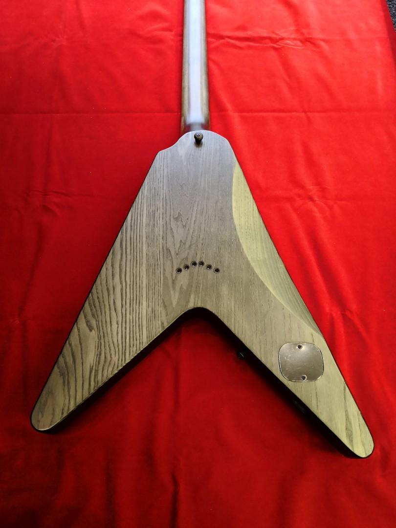 Schecter Guitar V-1 Apocalypse Grey