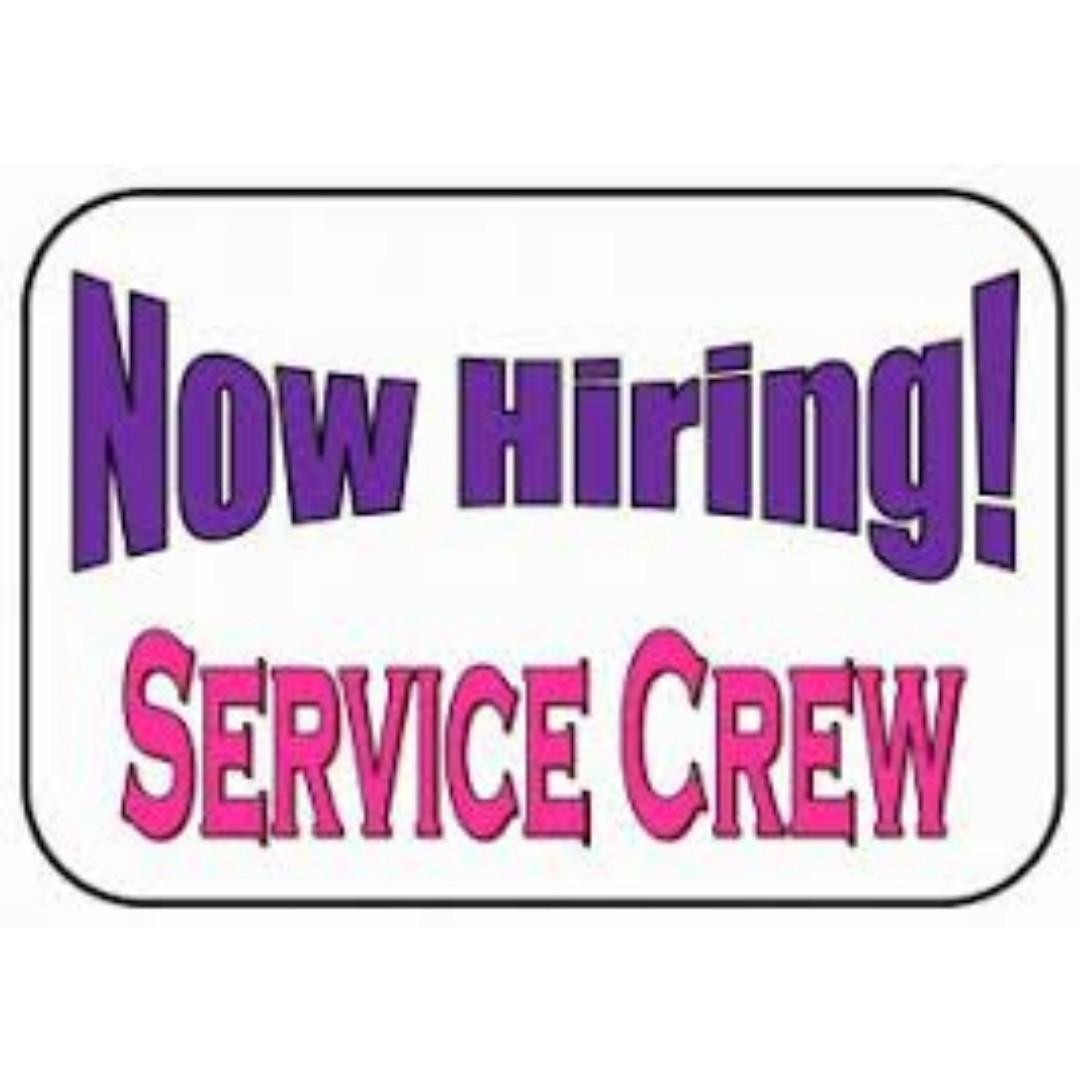 SERVICE CREW (6 MONTHS CONTRACT)