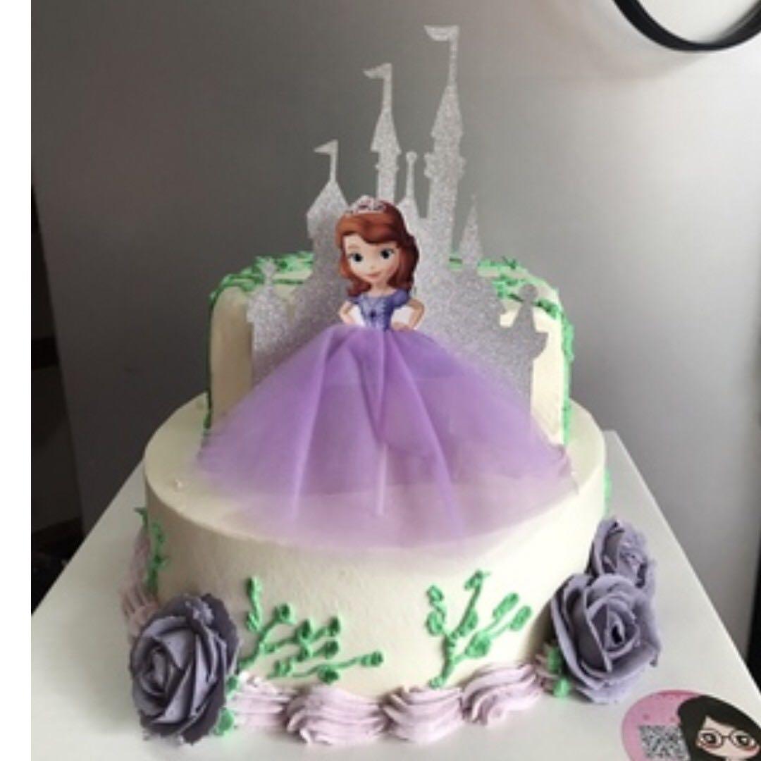 Sofia The First Princess Cake Cupcake Topper Party ...