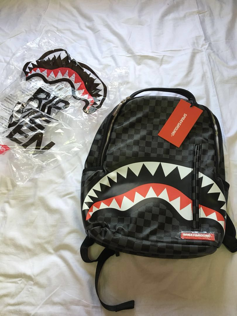 17b422b8abde Sprayground Sharks in Paris backpack!
