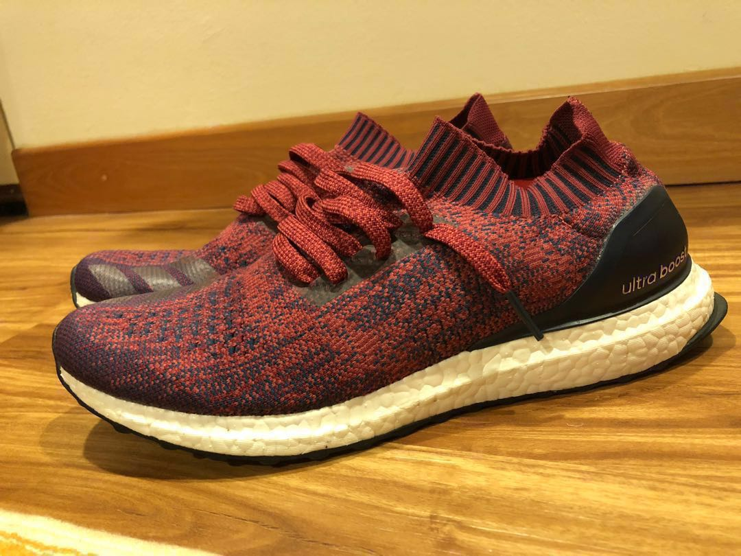 8464501abea3d Ultraboost Uncaged Burgundy Red