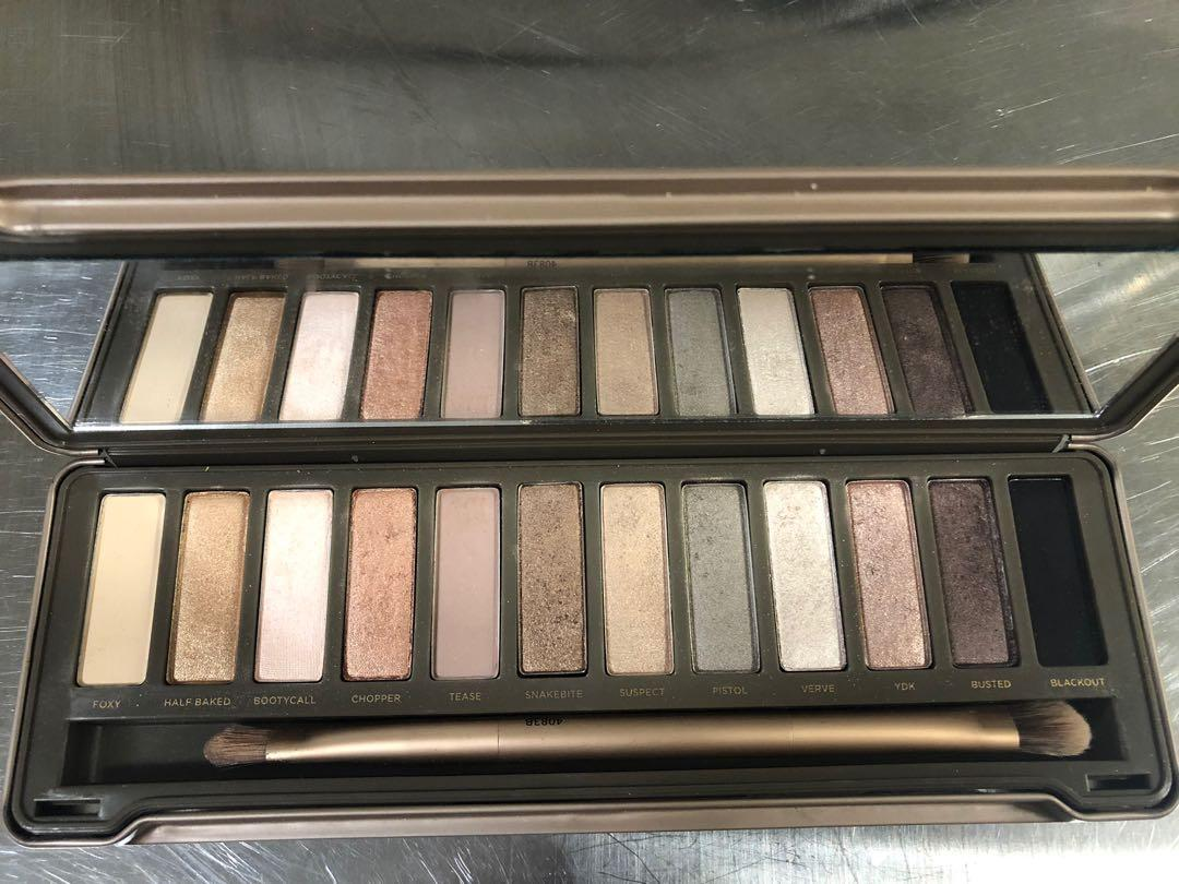 Urban Decay Baked 2 eye shadow palettes barely used