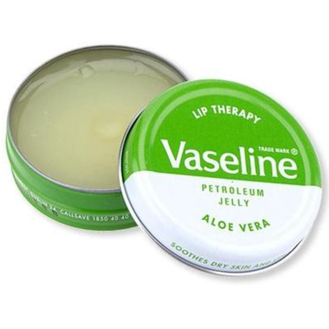 Vaseline Lip Therapy Petroleum Jelly Aloe Vera Green 20g