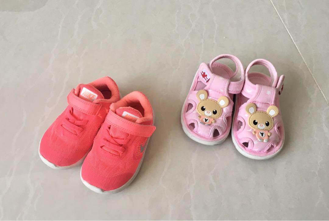 wts baby girl Nike shoes 16af3a834