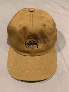 Stussy 正品-駝色老帽