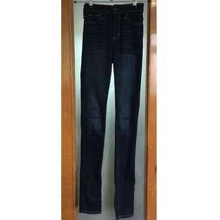 3️⃣Hollister high rise super skinny jeans