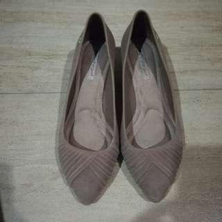 Grendha Suede Shoes with Heels