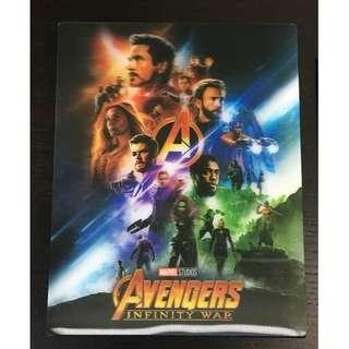 MARVEL AVENGERS INFINITY WAR 4K+Blu-ray 特別版