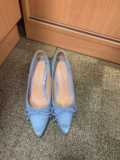 Zara ribboney kitten heels