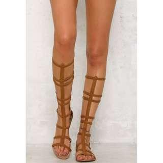 BILLINI GLADIATOR SANDALS - ONLY 2 LEFT SIZES 7 AND 8