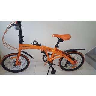 Hachiko HA-01 Japan Foldable Bicycle Shimano Bike | Folding bike | Aluminium Frame