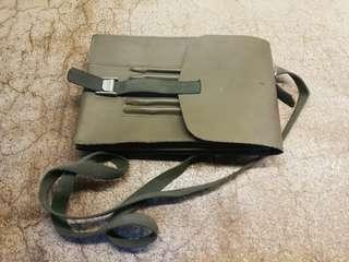 VINTAGE ARMY MAP POUCH/SLING BAG