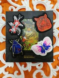 Starbucks China Tiger card and frame