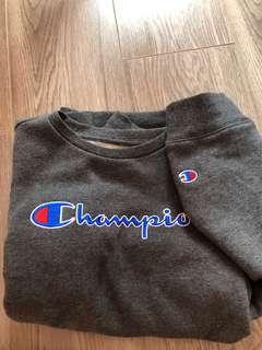Champion grey crew neck