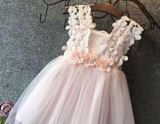 New Baby Dress Tulle Renda