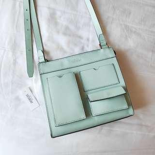 Kate Spade Saturday Mint Sling Bag Leather