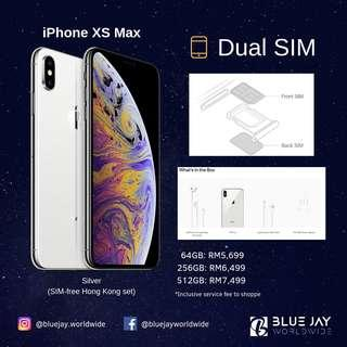"iPhone XS Max 64GB ""Dual Sim"" (SIM-free HK Set)"