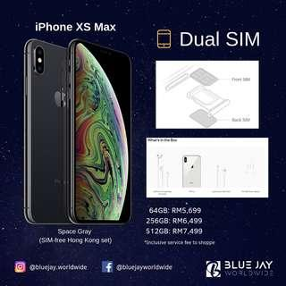 "Apple iPhone XS Max 512GB ""Dual Sim"" (SIM-Free HK Set)"