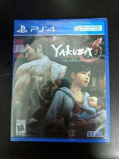 PS4 Yakuza 6 The Song Of Life (New)
