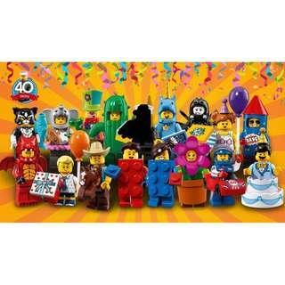 全新未砌LEGO71021人仔一套16隻 (不包括no.8警察)