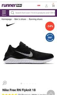 810800840983 LF Nike Flyknit free rn 2018