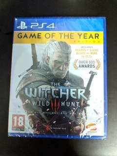 PS4 The Witcher 3 Wild Hunt GOTY Edition (New)