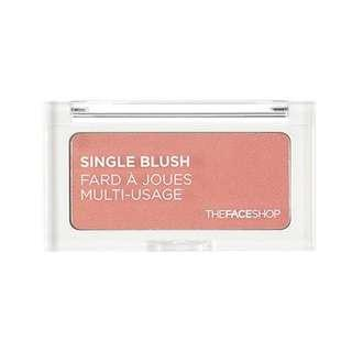 Face Shop Single Blush OR03 India Red