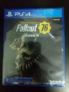 PS4 Game Fallout 76 (New)