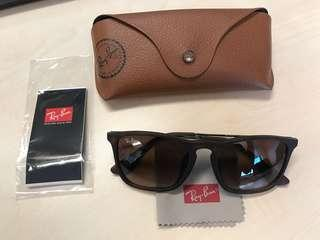 Rayban Chris Sunglasses, Limited Matte Tortoise - Seldom Used 3-5x only