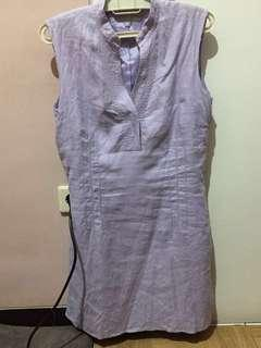Purple simple dress