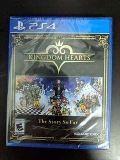 PS4 Kingdom Hearts The Story So Far (New)