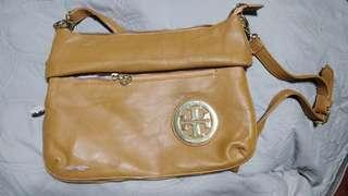 Imitation Tory Burch Bag in Mustard Yellow