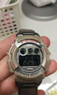 🚚 123 卡西歐 錶 casio gshock g-shock GL-110 金屬機身 旋入背蓋 全原裝