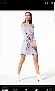 Aritzia Babaton Brightwell Off-Shoulder Dress