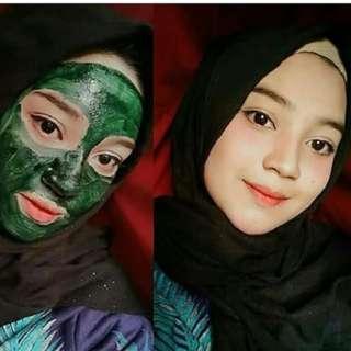 Masker Spirulina Curah Kapsul Bukan Tiens BERKUALITAS