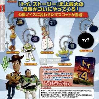⚠️預購⚠️ T-ARTS扭蛋 玩具總動員4 角色人型吊飾