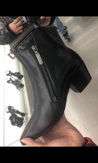 Saint Laurent Black Booties - 35.5