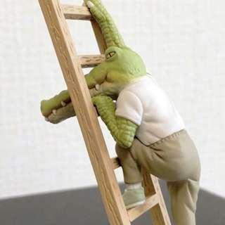 ⚠️預購⚠️ T-ARTS 扭蛋 鱷魚先生的日常