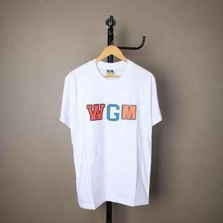 Kaos distro bape wgm white spesial premium