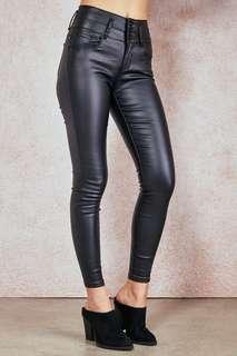 Ibiza Black High Waist Pants (Size 7)